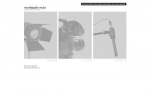 New Focal Media Original Homepage.